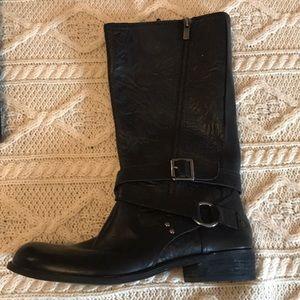 Unworn Gianni Bini black Moto Boots 8M